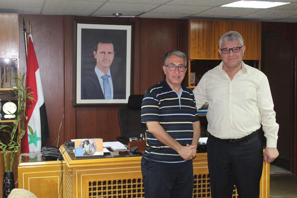 إهداء إلى مكتبة الأسد الوطنية