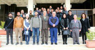وفد من طلاب المعهد العالي للدراسات والبحوث السكانية في زيارة اطلاعية إلى مكتبة الأسد الوطنية
