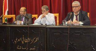 قراءة نقدية في كتابين للناقد إياد مرشد في ثقافي أبو رمانة